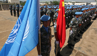 Chinese Peacekeeping Battalion Awarded UN Medal for Service