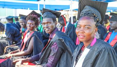 unmiss south sudan bor vocational training centre graduates youth south korea
