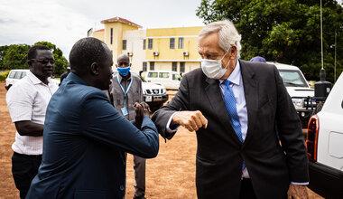 UNMISS protection of civilians Western Bahr El Ghazal Northern Bahr EL Ghazal Warrap Lakes Nicholas Haysom Aweil Wau Kuajok  Rumbek displaced civilians peacekeepers South Sudan peacekeeping peace