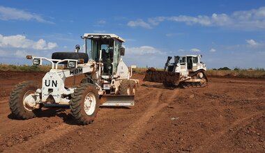 UNMISS protection of civilians Bangladesh engineers road repairs peacekeepers South Sudan peacekeeping peacekeepers