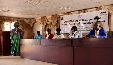 unmiss revitalized peace agreement kuajok warrap peace united nations peacekeeping peacekeepers communities