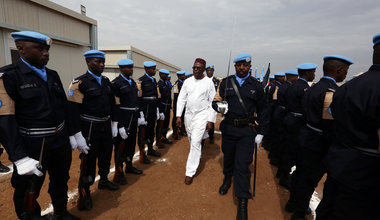 Rwandan police officers awarded UN medals for outstanding service in Juba