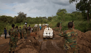 UN Peacekeepers Work to Improve Security and Safety on Main Road to Yei