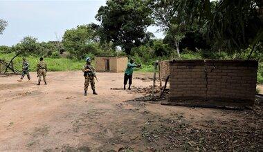 UNMISS protection of civilians intercommunal violence displaced civilians peacekeepers South Sudan peacekeeping Tambura Western Equatoria