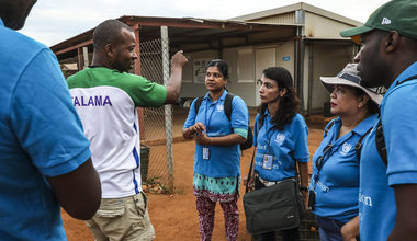 unmiss juba south sudan akobo unv united nations volunteers profile ratha pathmanathan sir lanka displaced people refugees