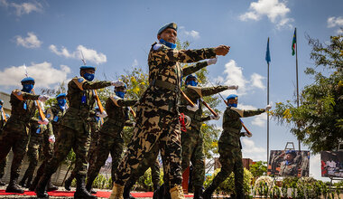 UNMISS International Day of UN Peacekeepers COVID-19  South Sudan Peacekeepers UN Peacekeeping Nicholas Haysom