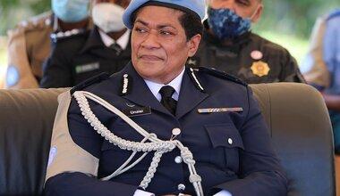 unmiss unpol police commissioner fiji farewell woman leader south sudan