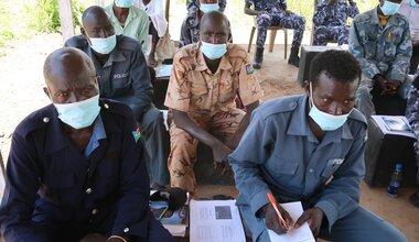 UNMISS protection of civilians South Sudan UNPOL police capacity building northern bahr el ghazal peacekeeping united nations