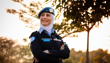 UNMISS South Sudan Peacekeepers COVID-19 Coronavirus Peacekeeping Jordan Women's Day