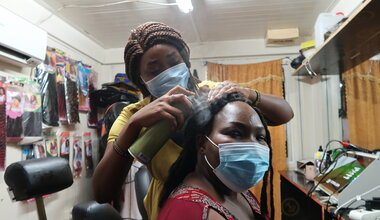 UNMISS youth peace security south sudan  hair beauty fashion malakal hairdressers peacekeeping peacekeepers UN United Nations International Day of UN Peacekeepers