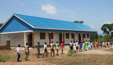 unmiss south sudan eastern equatoria state quick impact project school