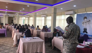 unmiss south sudan children armed forces groups action plan committees implementation delisting
