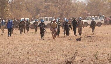 unmiss south sudan cueibet county peacekeepers nepal presence reducing tensions intercommunal violence