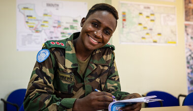 UNMISS South Sudan Peacekeepers COVID-19 Peacekeeping Women's Day Malawi