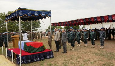 unmiss south sudan peacekeeping bangladesh fallen killed funeral service protecting civilians 28 june 2018