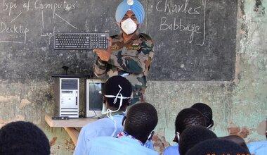 unmiss south sudan malakal computer skills training basic level school students