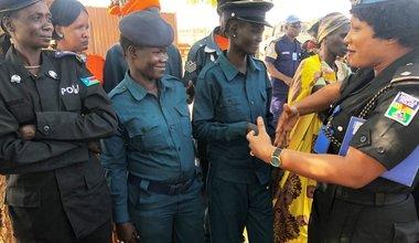 south sudan unmiss unpol female empowerment network bentiu national counterparts january 2019