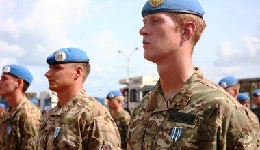 unmiss peacekeeping malakal bentiu medal parade british uk south sudan engineers 26 july 2018