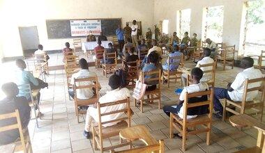 unmiss south sudan wau bangladesh hand over equipment school material