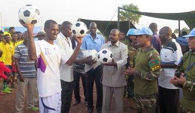 Common Goal: Building Peace through Football