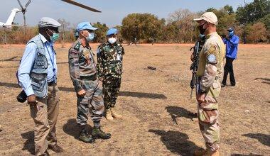 UNMISS protection of civilians displaced civilians peacekeepers South Sudan peacekeeping Cueibet Lakes