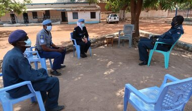 UNMISS COVID-19 peacekeepers peacekeeping South Sudan Women's Day Female Prisoners Prisons Peacekeepers UNPOL Wau