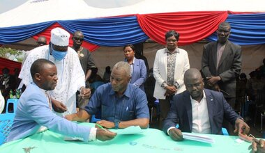 UNMISS trust confidence community engagement quick impact projects health care Western bahr el Ghazal peace South Sudan