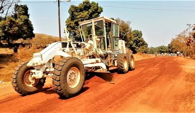 unmiss south sudan road rehabilitation western equatoria state mundri yambio access markets trade school education