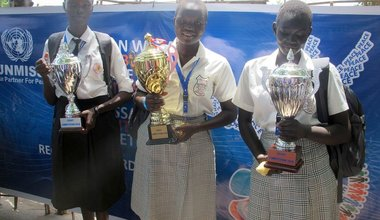 "Essay winner in Rumbek: ""Women may be the only hope left to bring peace to South Sudan"""