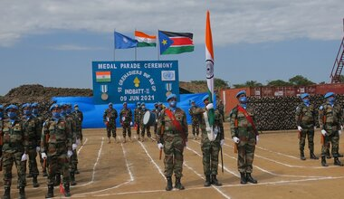 unmiss south sudan india sri lanka un medals outstanding service bor pibor akobo aviation