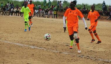 UNMISS protection of civilians displaced civilians peacekeepers South Sudan peacekeeping Juba football sport inter-community