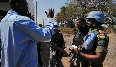 UNMISS protection of civilians conflict peacekeepers South Sudan peacekeeping Ghana