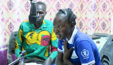 unmiss south sudan aweil northern bahr el ghazal radio media gender based violence prevention awareness