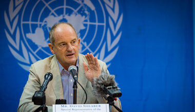 UNMISS David Shearer Press Conference Juba Road Repairs Protection of Civilians Subnational violence peace process elections