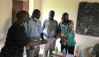 relief reintegration and protection education UNMISS South Sudan displaced persons IDPs Unity State Mayom Quick Impact Projects peacekeepers peacekeeping CHIDDO