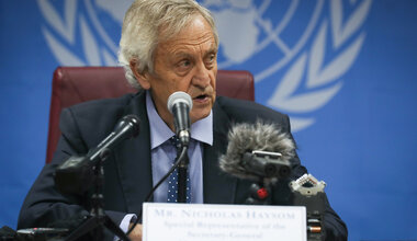 UNMISS Nicholas Haysom Press Conference Juba Road Repairs Protection of Civilians Constitution Election