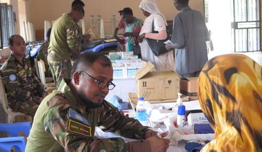 Some relief in Wau as Bangladeshi peacekeepers bring medical services to the locals