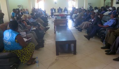 High-level delegation visits Yambio to discuss peace and development
