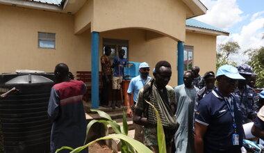 unmiss south sudan jonglei anyidi pibor police station security trade returning idps