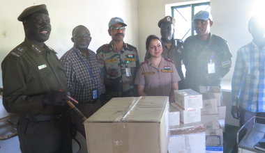 unmiss malakal prison improved conditions donations medical supplies quick impact projects