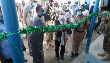 UNMISS hands over police station in Rubkona County, Unity State