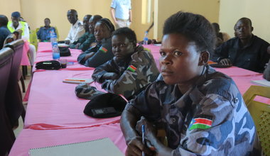 unmiss south sudan torit armed forces women ready for leadership roles unpol training workshops