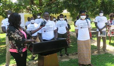 unmiss south sudan protection of civilians awareness raising Torit peacekeepers peacekeeping coronavirus COVID-19