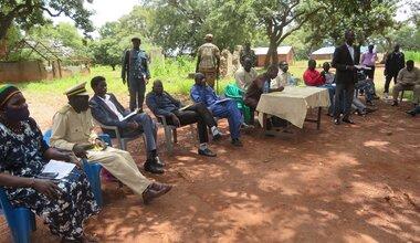unmiss protection of civilians peacebuilding peace coexistence Rumbek South Sudan united nations peacekeeping peacekeepers