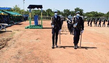 UNPOL police UNMISS South Sudan Protection of Civilians Medal Parade Rwanda