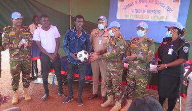 UNMISS protection of civilians IDP displaced peacekeepers South Sudan peacekeeping wau bangladesh united nations peacekeeping