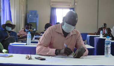UNMISS civil affairs community engagement Western Bahr el Ghazal peace forum Revitalized Peace Agreement, South Sudan civil society