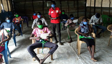 unmiss south sudan malakal covid-19 face masks donation protection of civilians