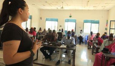 UNMISS protection of civilians peacebuilding Kodok Fashoda Malakal peacekeepers South Sudan workshop civil affairs civil society