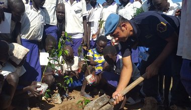 unmiss south sudan kuajok unpol happy mango tree project
